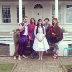 As Alice in 'A Mad Tea Party' for Anywhere Theatre Festival, August 2014.